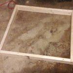 solar heater box frame