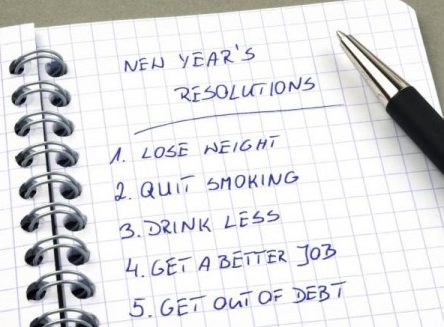 new years resolutions 2017