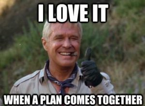 george peppard from ateam